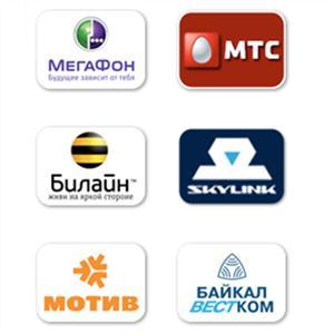 Операторы сотовой связи Ожерелья